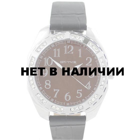 Женские наручные часы Спутник Л-300580/1 (корич.) ч.р.