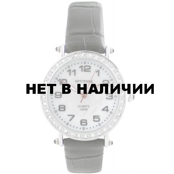 Женские наручные часы Спутник Л-300700/1 (перл.) ч.р.