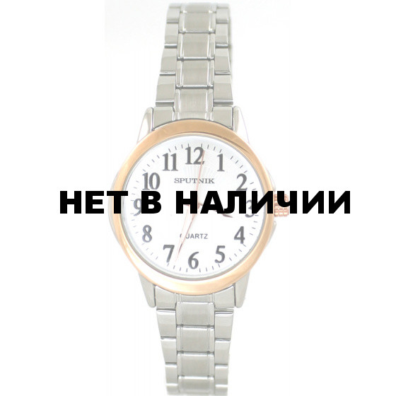 Женские наручные часы Спутник Л-800030/6 (сталь)