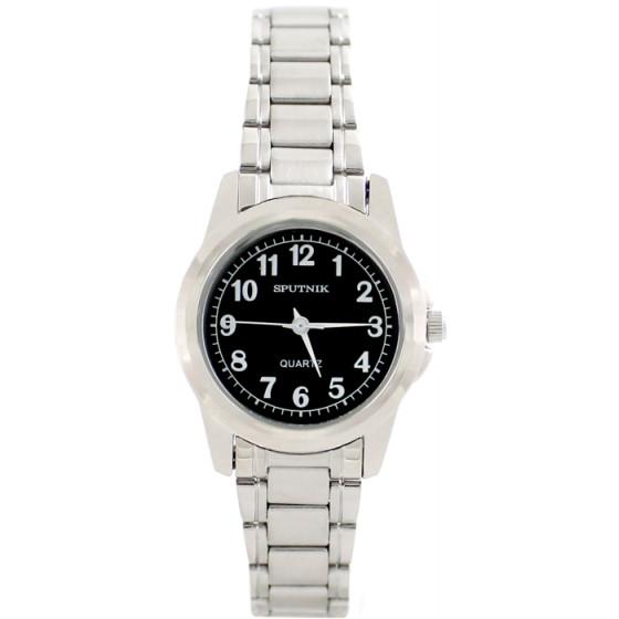 Женские наручные часы Спутник Л-800090/1 (черн.)