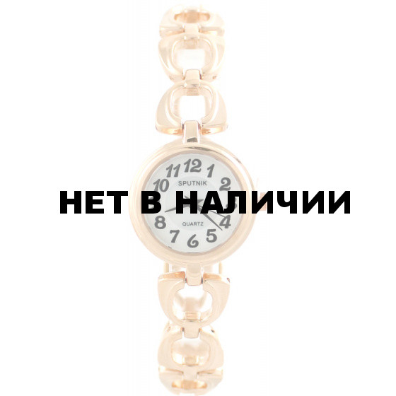 Женские наручные часы Спутник Л-882630/8 (бел.+перл.)