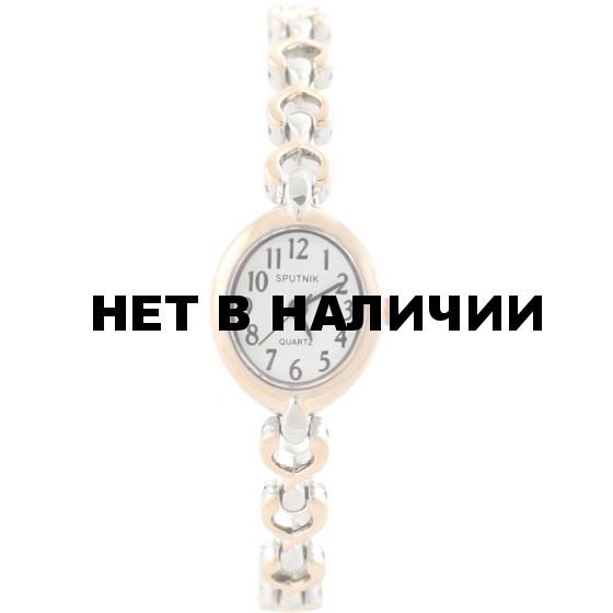 Женские наручные часы Спутник Л-882940/6 (сталь)