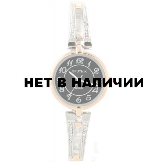 Женские наручные часы Спутник Л-900220/6 (черн.)