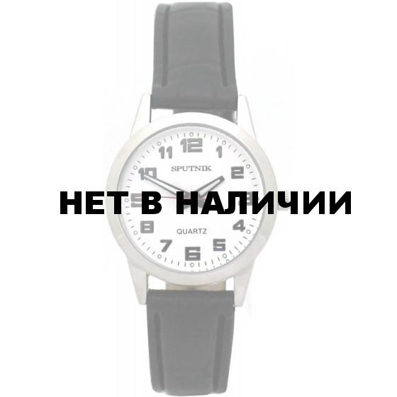 Женские наручные часы Спутник Л-200920/1 (сталь) ч.р.