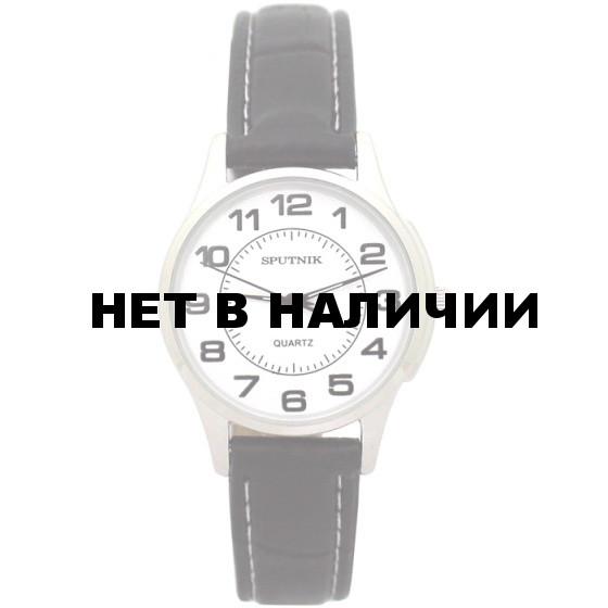 Женские наручные часы Спутник Л-200950/1 (сталь) ч.р.
