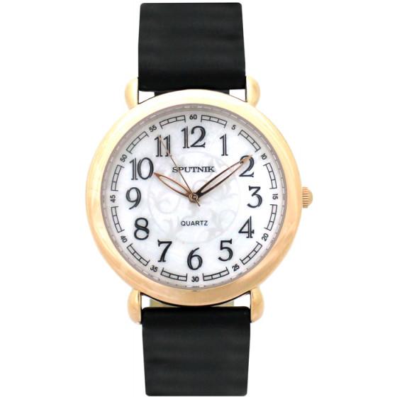 Женские наручные часы Спутник Л-201031/8 (перл.) ч.р.