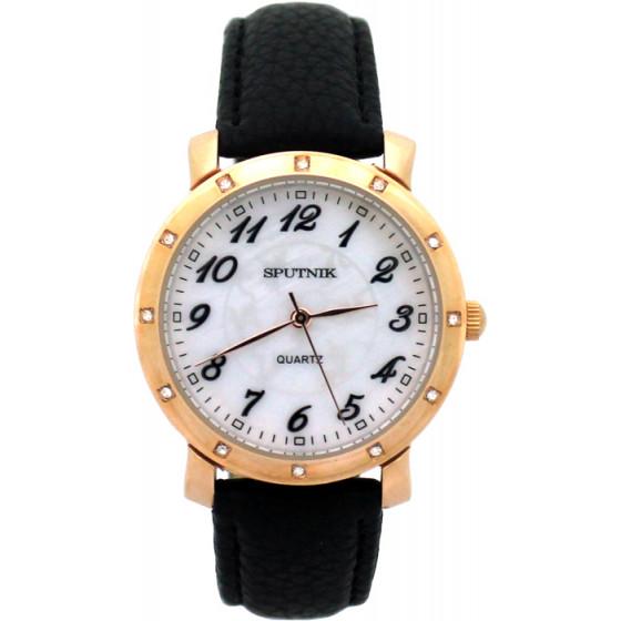 Женские наручные часы Спутник Л-201041/8 (перл.) ч.р.