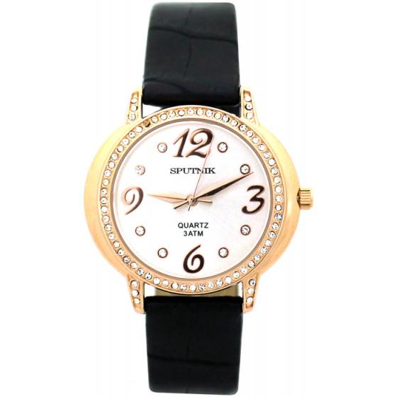 Женские наручные часы Спутник Л-300471/8 (сталь) ч.р.