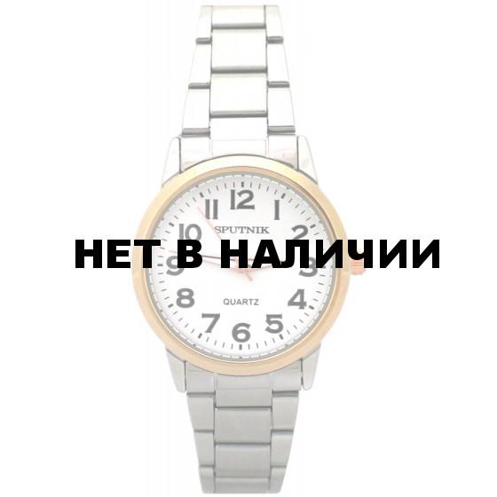 Женские наручные часы Спутник Л-800020/6 (сталь)