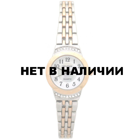 Женские наручные часы Спутник Л-900420/6 (бел.+перл.)