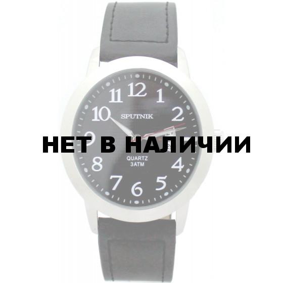 Мужские наручные часы Спутник М-400590/1 (черн.)