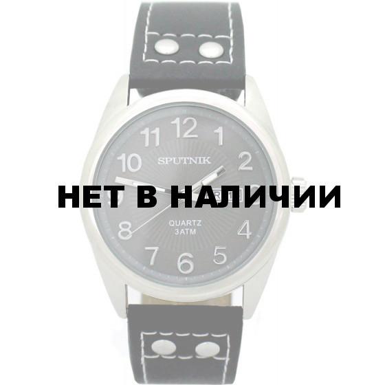Мужские наручные часы Спутник М-400610/1 (св.серый)