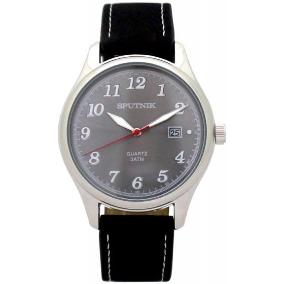 Мужские наручные часы Спутник М-400700/1 (светло-серый)