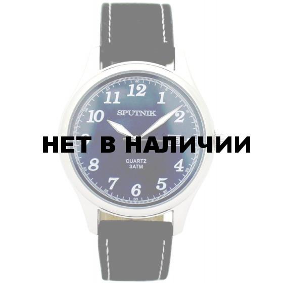 Мужские наручные часы Спутник М-400700/1 (син.)