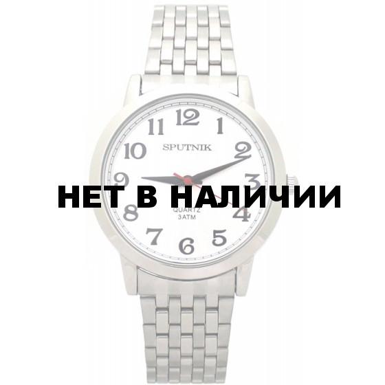 Мужские наручные часы Спутник М-996062/1 (сталь)