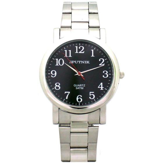 Мужские наручные часы Спутник М-996230/1 (черн.)