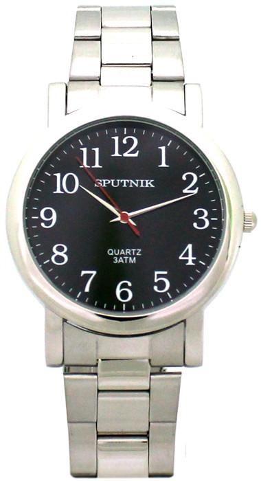11ba8ded Мужские наручные часы Спутник М-996230/1 (черн.), производитель Часы ...