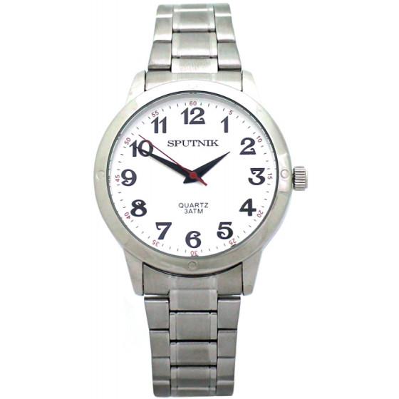 Мужские наручные часы Спутник М-996630/1 (сталь)
