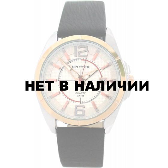 Мужские наручные часы Спутник М-400570/6 (сталь)