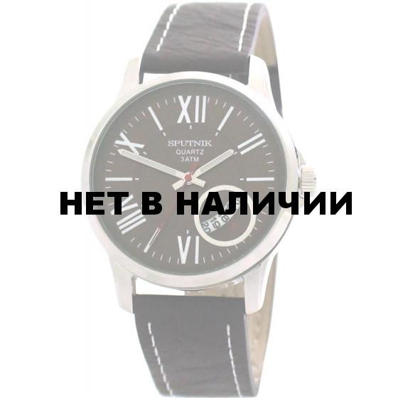 Мужские наручные часы Спутник М-400651/1 (корич.)