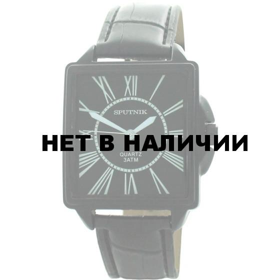 Мужские наручные часы Спутник М-857692/3 (черн.)