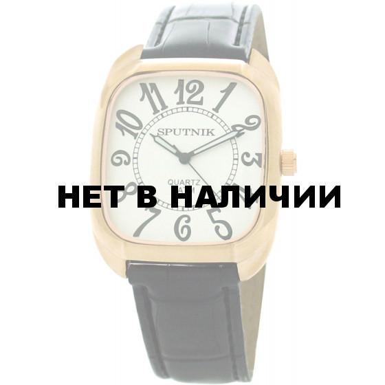 Мужские наручные часы Спутник М-857740/8 (сталь)