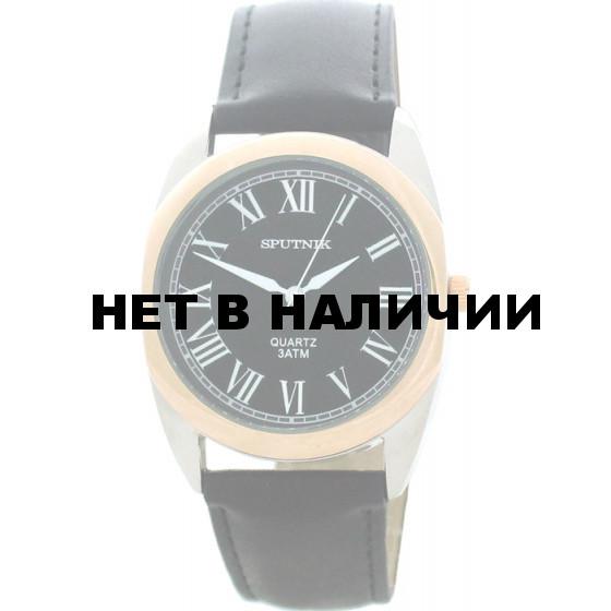 Мужские наручные часы Спутник М-857791/6 (черн.)