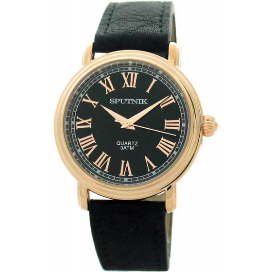 Мужские наручные часы Спутник М-858041/8 (черн.)