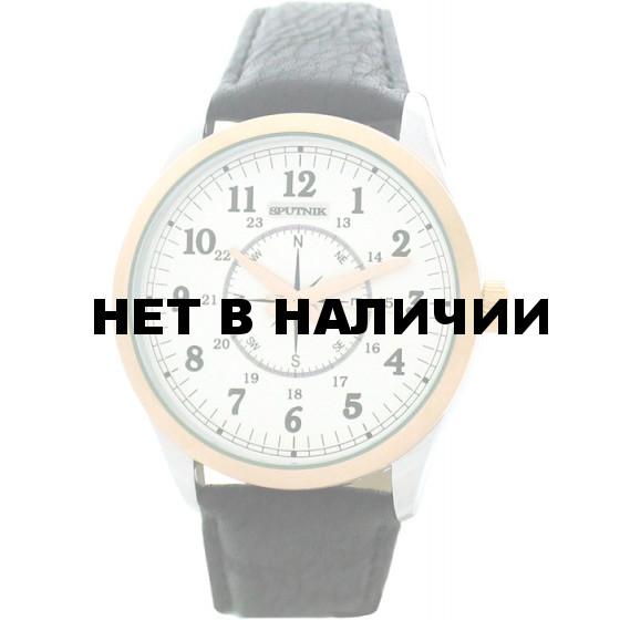 Мужские наручные часы Спутник М-858100/6 (сталь)