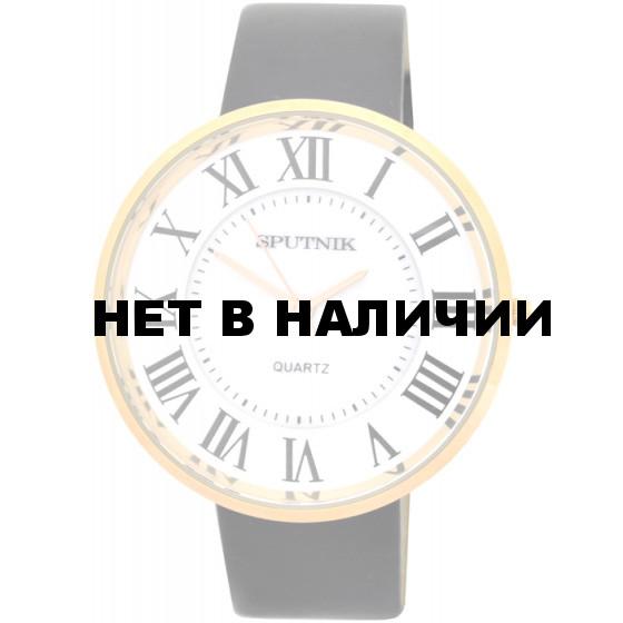 Наручные часы Спутник Л-201050A/8 (бел.+перл.) ч.р.
