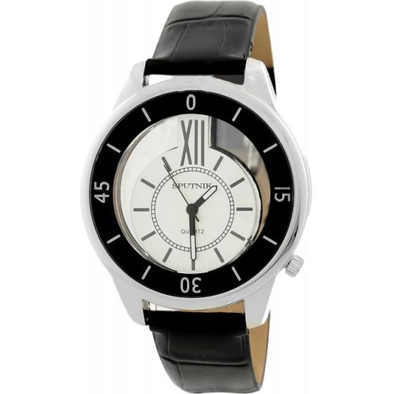 Наручные часы Спутник Л-300111/1.3 (сталь) ч.р.