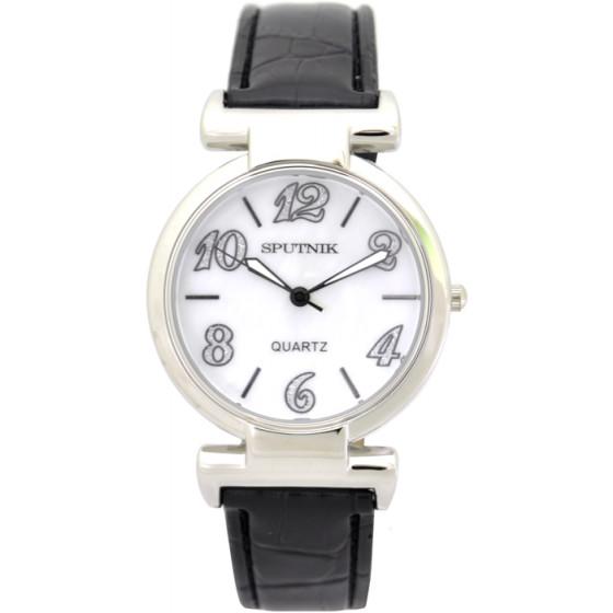 Наручные часы Спутник Л-300252/1 (перл.) ч.р.