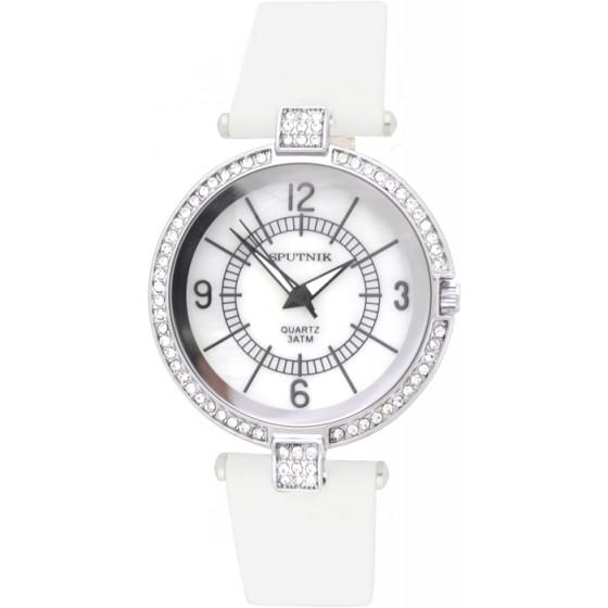 Наручные часы Спутник Л-300370/1 (перл.) б.р.
