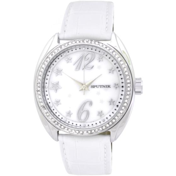 Наручные часы Спутник Л-300410/1 (перл.) б.р.