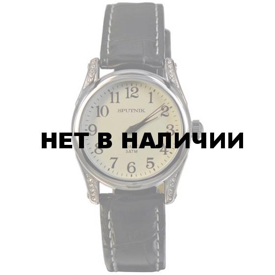 Женские наручные часы Спутник Л-300870/1 (сталь) ч.р.
