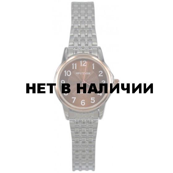Женские наручные часы Спутник Л-800000/1 (корич.)