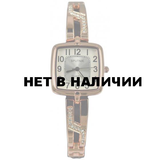 Женские наручные часы Спутник Л-900560/8 (бел.+сталь)