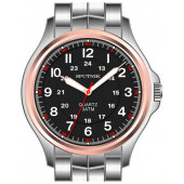 Мужские наручные часы Спутник М-996354/6 (черн.)