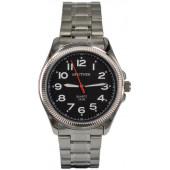Мужские наручные часы Спутник М-996880/1 (черн.,бел.оф.)