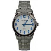 Мужские наручные часы Спутник М-996890/1 (бел.,син.оф.)
