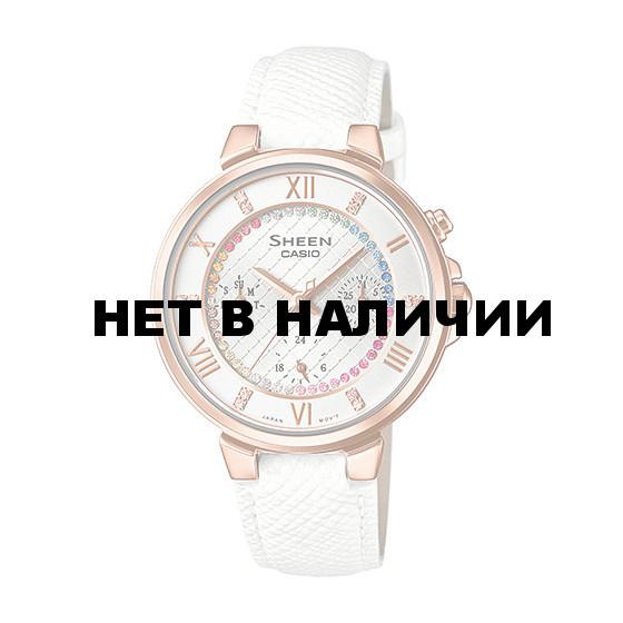 Женские наручные часы Casio SHE-3041PGL-7A