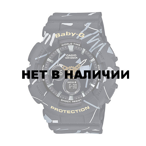 Мужские наручные часы Casio BA-120SC-1A (Baby-G)