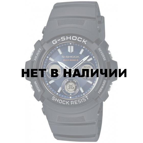 Мужские наручные часы Casio AWG-M100SB-2A (G-Shock)