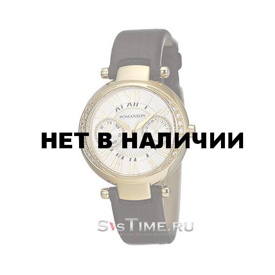 Женские наручные часы Romanson RL 2612Q LG(WH)BN