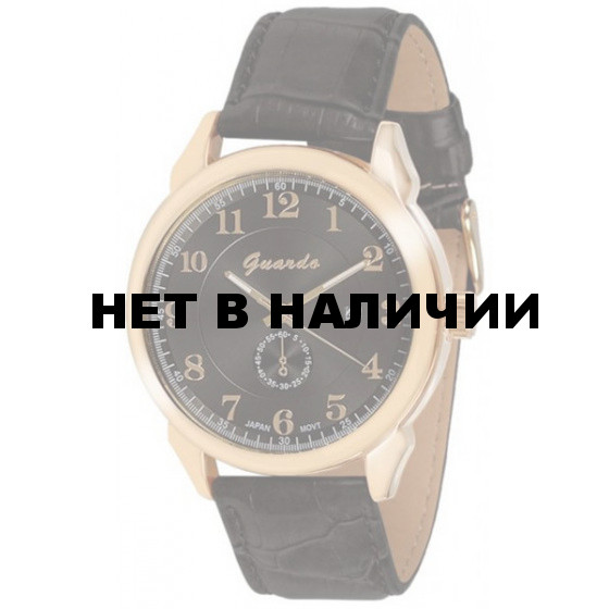 Наручные часы мужские Guardo 9388.6 чёрный