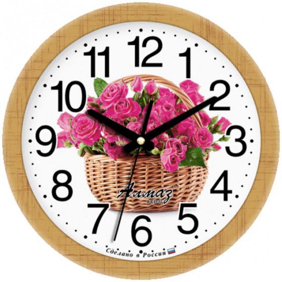 Настенные часы Алмаз 084