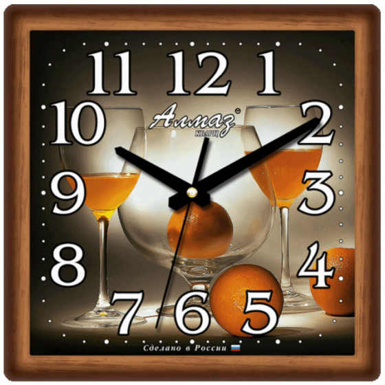 Настенные часы Алмаз 327