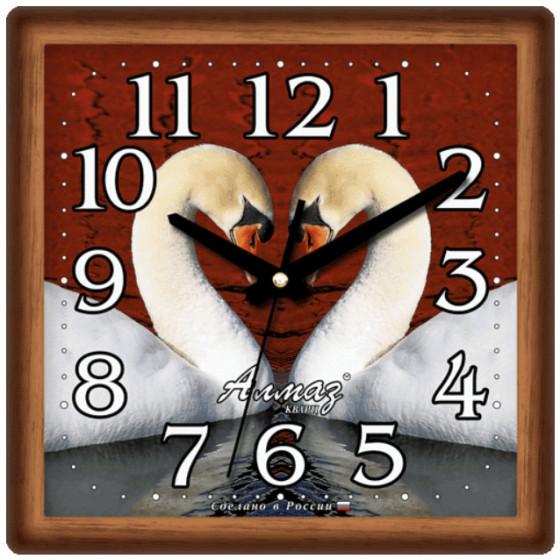 Настенные часы Алмаз 349