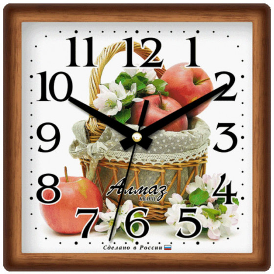 Настенные часы Алмаз 384
