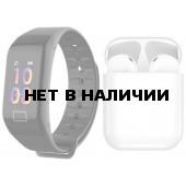 Фитнес браслет BandRate Smart F11 Black-SET2